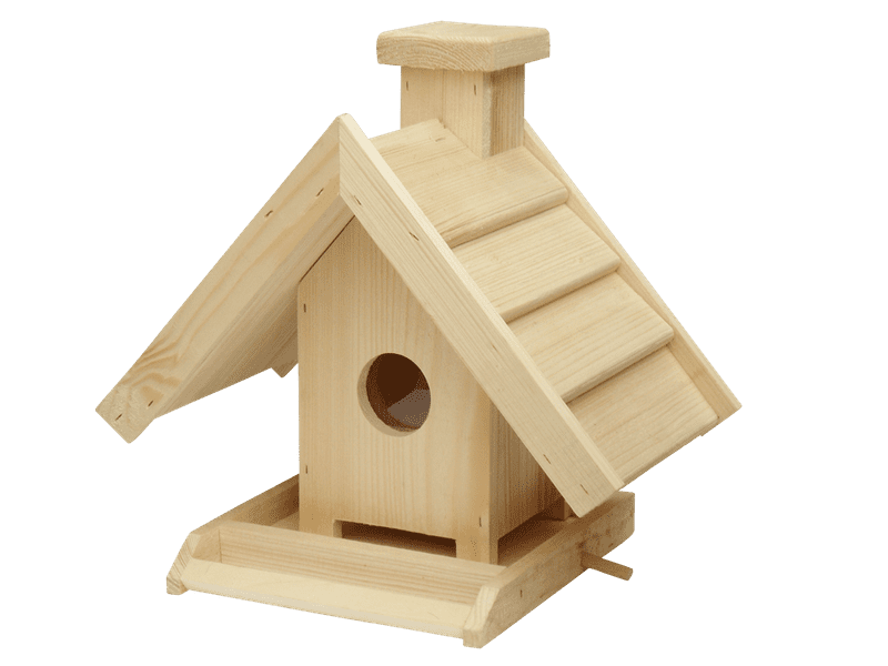 Dřevěné krmítko - Villa