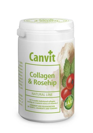 Canvit suplement diety dla psa Natural Line Collagen & Rosehip - 180 g
