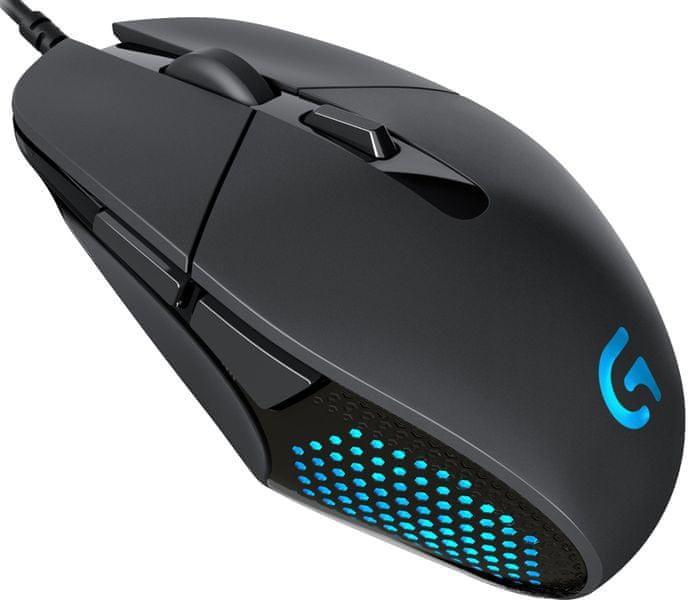 Logitech G302 Daedalus Prime, Gaming Mouse, 4000 DPI, 6 prog. tlačítek (910-004207)
