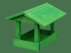 Fa madáretető, Zöld, Kisméretű