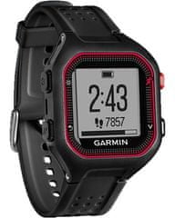Garmin Forerunner 25 GPS,Sportóra, Fekete-piros, XL