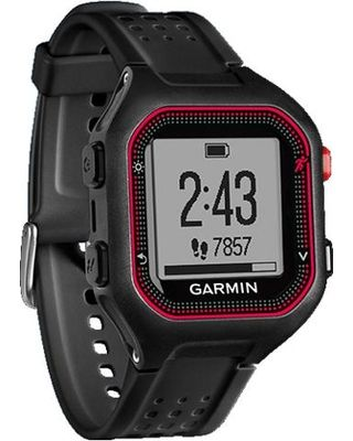 Garmin Forerunner 25, Black Red, GPS, XL
