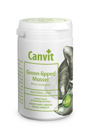 Canvit suplement diety dla psa i kota Natural Line Green-lipped Mussel - 180 g