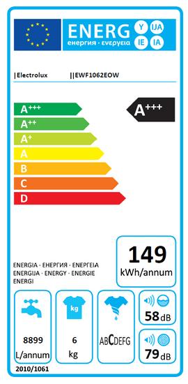 Electrolux EWF1062EOW