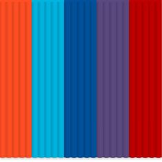 3Doodler Create Mix color ABS pack - Bohemian Blend
