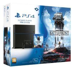 Sony Playstation PS4 1TB set + Star Wars Battlefront