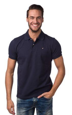 PeakPerformance férfi galléros póló S sötétkék