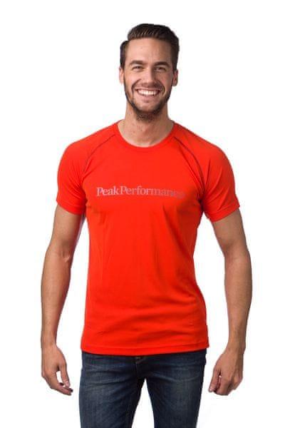 Peak Performance pánské funkční tričko L oranžová