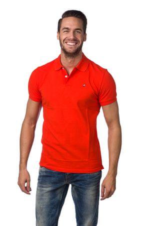 PeakPerformance férfi galléros póló S narancssárga