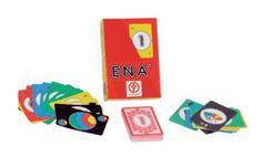 Kocka igra s kartami Ena