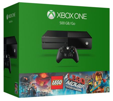 Microsoft Xbox One 500GB + Lego Movie