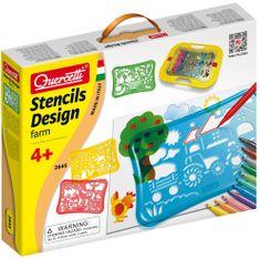 Quercetti Stancils Design Farm