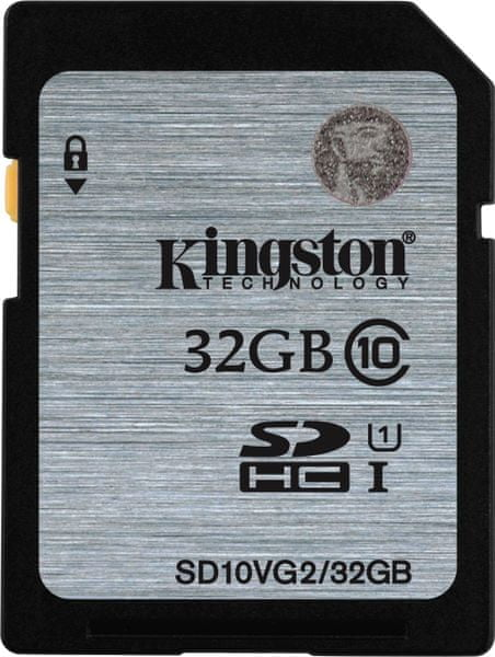 Kingston SDHC 32GB 45MB/s UHS-I (SD10VG2/32GB)