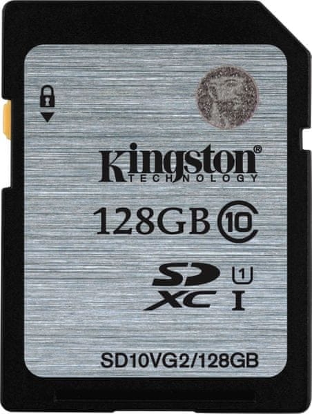 Kingston SDXC 128GB 45MB/s UHS-I (SD10VG2/128GB)