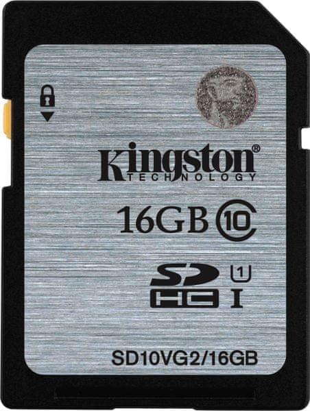 Kingston SDHC 16GB (UHS-1) 45MB/s (SD10VG2/16GB)