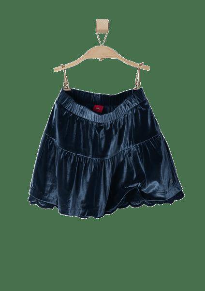 s.Oliver dívčí sukně na gumu 116 tmavě modrá