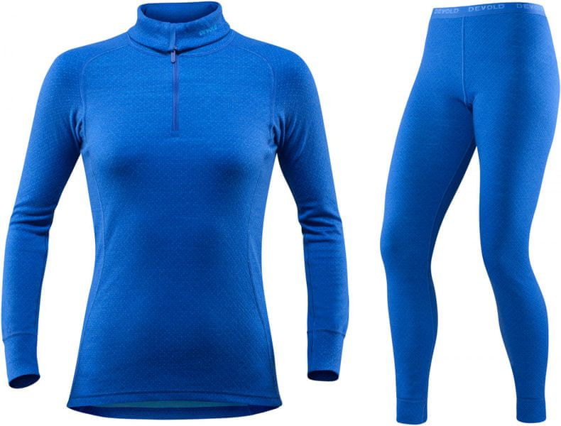 Devold Set Active Woman Zip Neck + Long Johns XS