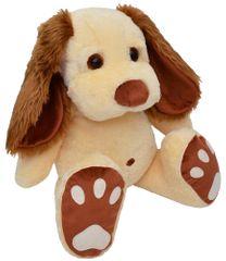 MÚ BRNO Pes Pupík 70cm, béžový