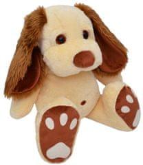 MÚ BRNO Pes Pupík 55cm, béžový