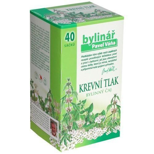 Čaj Bylináře Krevní tlak n.s. 40x1.6g