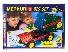 Merkur Stavebnice 3 30 modelů 307ks