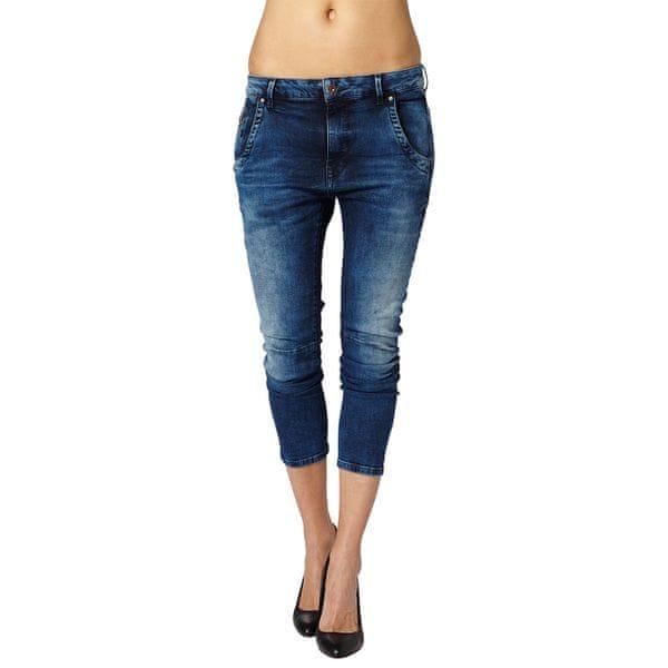 Pepe Jeans dámské 3/4 jeansy Topsy_1 30 modrá