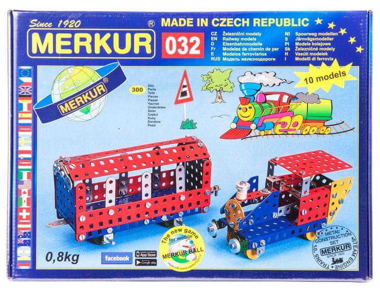 Merkur Stavebnice 032 Železniční modely