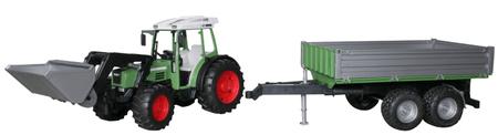 Bruder traktor Fendt s prikolico 01999