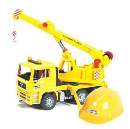 Bruder kamion dvigalo, čelada 01973