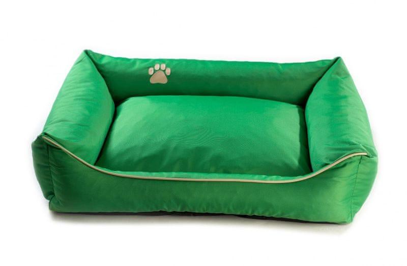 Argi pelech obdélníkový - snímatelný potah zelený vel. XL