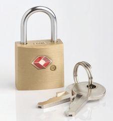 REAbags Kłódka z kluczem na bagaż TB026