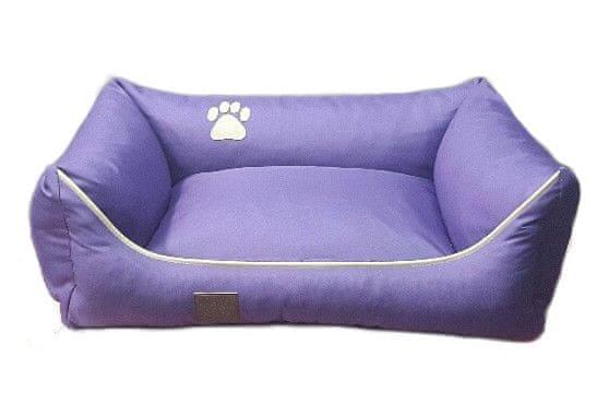 Argi pelech obdélníkový - snímatelný potah fialový vel. XL
