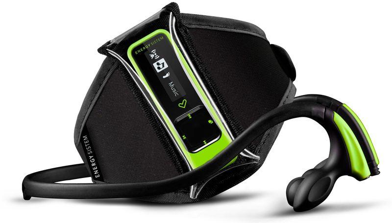 Energy Sistem Running / 8 GB, neonově zelená