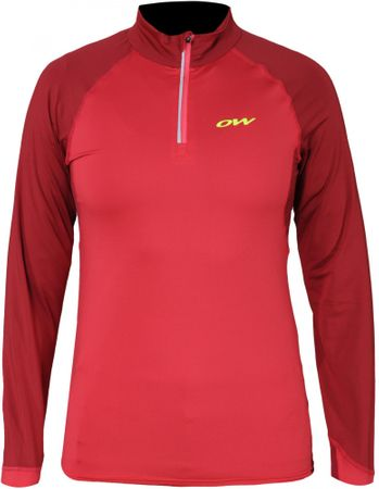 One Way ženska majica Just Speed, rdeča, S