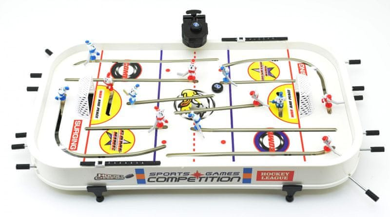 Teddies Hokej společenská hra plast 60x35x8 cm