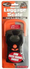 REAbags 078/363 Digitális csomagmérleg, Fekete/Narancs
