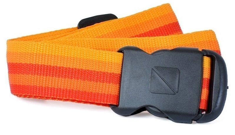 REAbags Bezpečnostní popruh na kufr oranžový