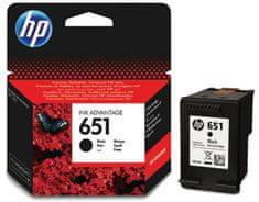HP kartuša 651, črna (C2P10AE)