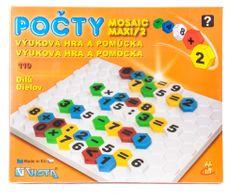 Seva Mozaika Maxi Počty, 110 ks