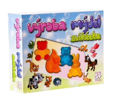 Deti Art Výroba mydiel - Zvieratá
