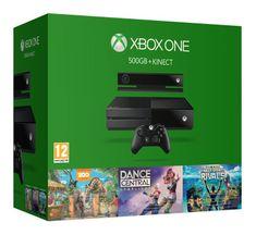 Microsoft Xbox One 500GB se senzorem Kinect + Dance Central Spotlight + Zoo Tycoon + Kinect Sports Rivals
