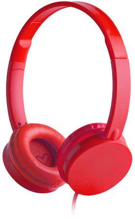 Energy Sistem słuchawki Colors, czerwony