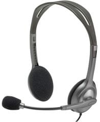 Logitech H111 stereo slušalke z mikrofonom