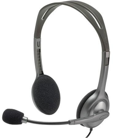 Logitech Stereo Headset H111 (981-000593)