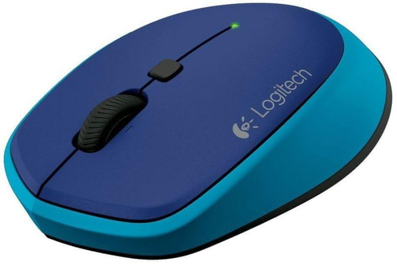 Logitech bezdrátová myš M335 - modrá (910-004546)