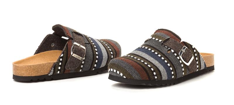 Scholl pánská domácí obuv Azhai 43 vícebarevná