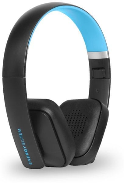 Energy Sistem Headphones BT2 Bluetooth, černá/modrá