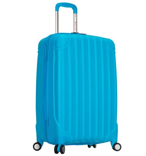 REAbags Cestovní kufr T-665/3-50 PP modrá