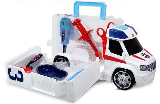 Dickie Ambulance 33 cm s lékařským vybavením