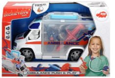 DICKIE Ambulancia 33 cm s lekárskym vybavením